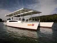 Catamarán SUN 21