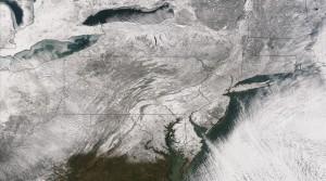 EEUU congelado por un vórtice polar